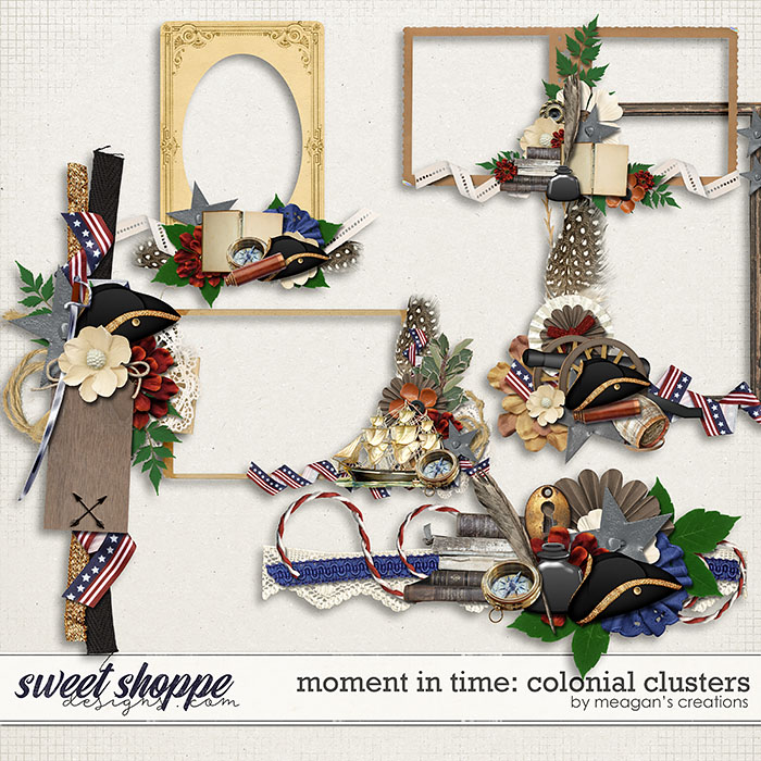 Moment in Time: Colonial Clusters by Meagan's Creations