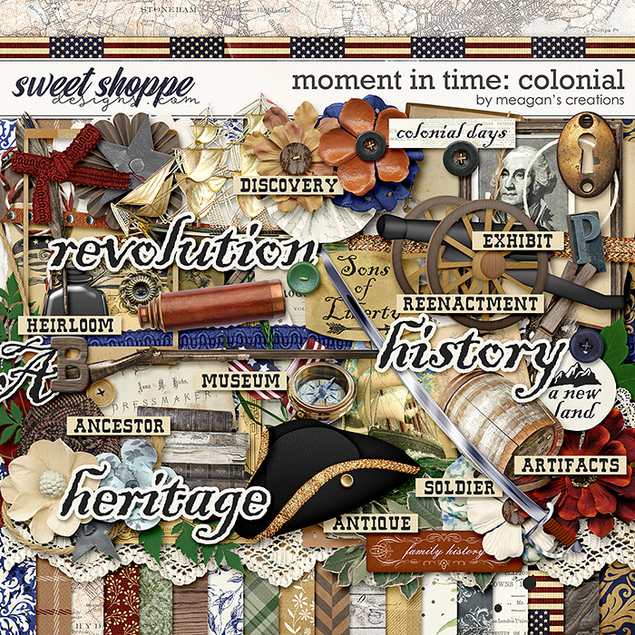 Moment in Time: Colonial by Meagan's Creations