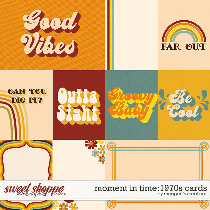 Moment in Time: 1970s Cards by Meagan's Creations