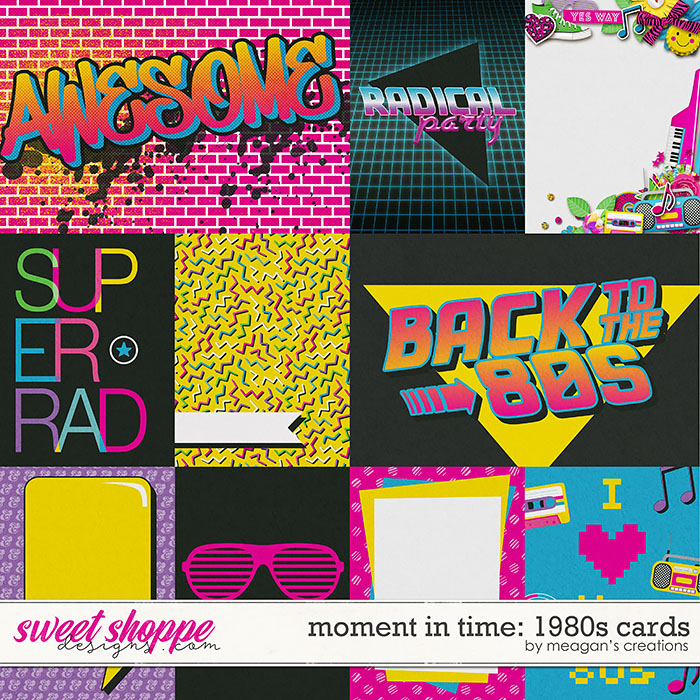 Moment in Time: 1980s Cards by Meagan's Creations