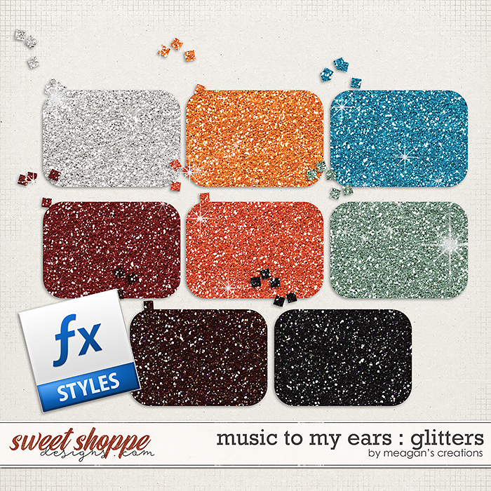 Music to My Ears: Glitters by Meagan's Creations