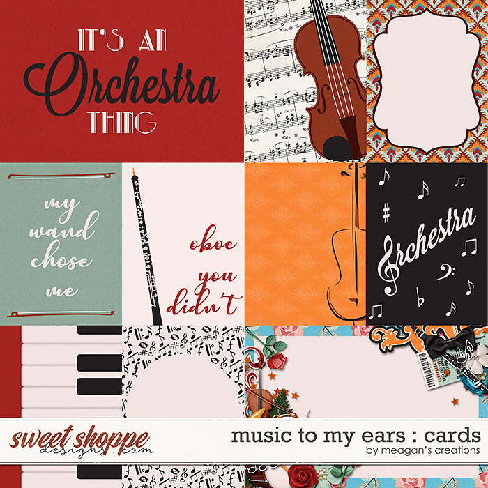 Music to My Ears: Cards by Meagan's Creations