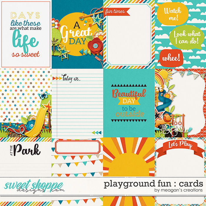 Playground Fun: Cards by Meagan's Creations