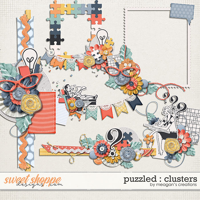 Puzzled : Clusters by Meagan's Creations