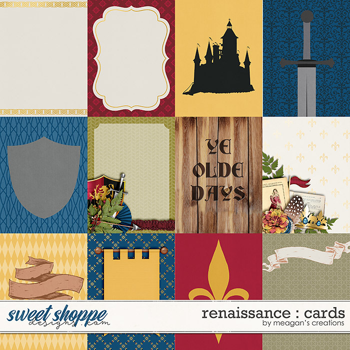 Renaissance : Cards by Meagan's Creations