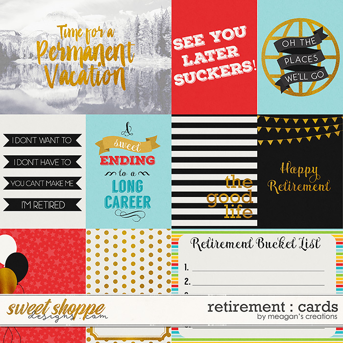 Retirement : Cards by Meagan's Creations