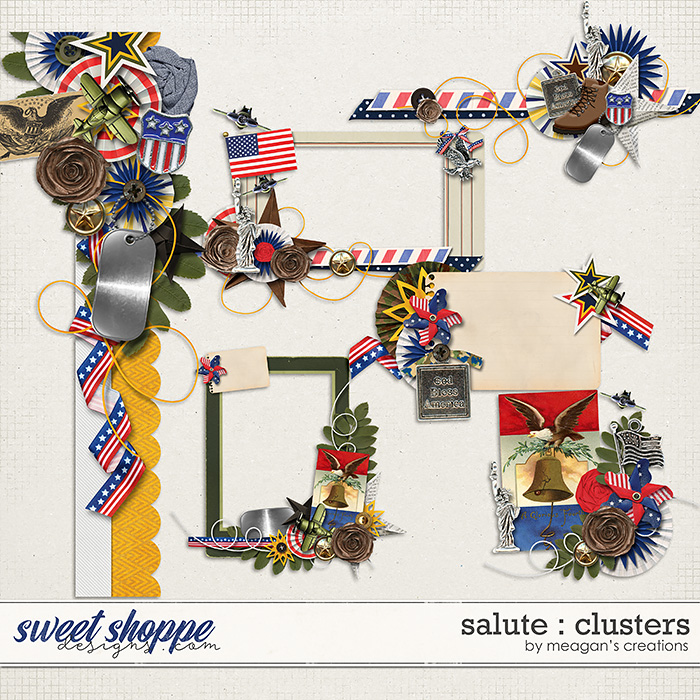 Salute : Clusters by Meagan's Creations