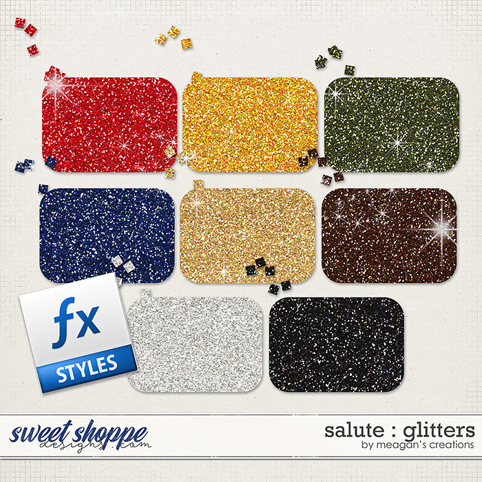 Salute : Glitters by Meagan's Creations