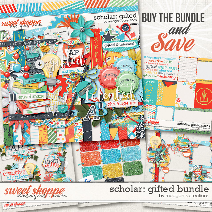 Scholar: Gifted Collection Bundle by Meagan's Creations