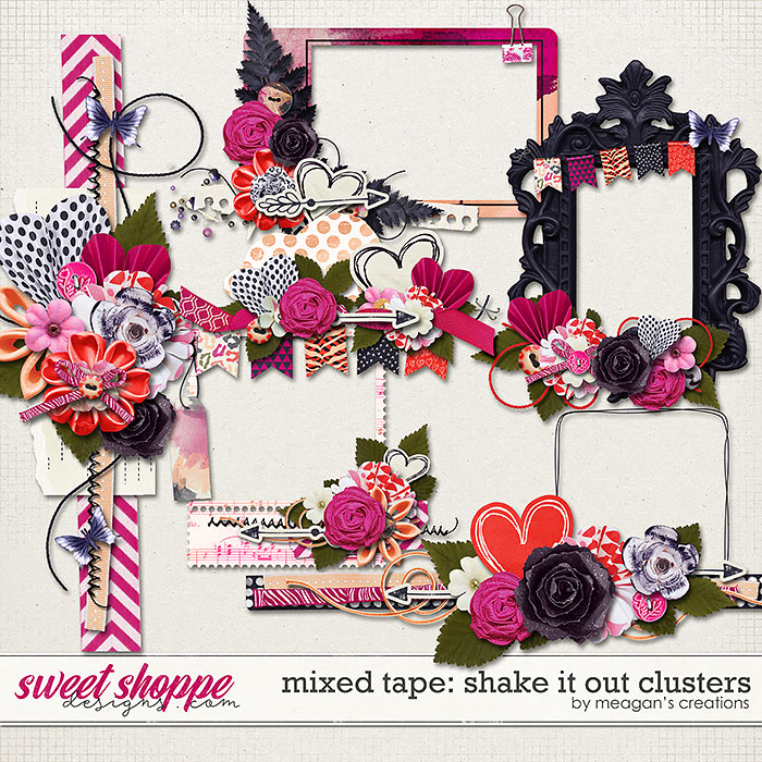 Shake it Out: Clusters by Meagan's Creations