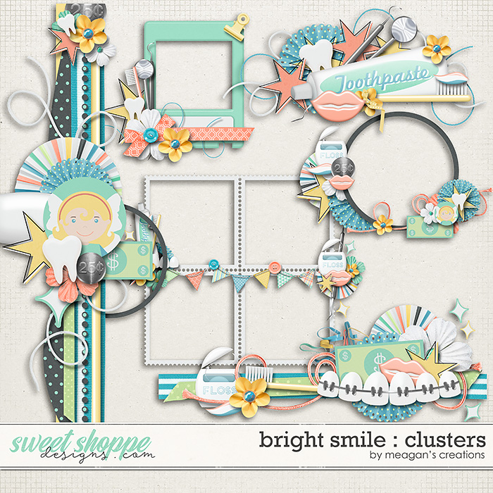 Bright Smile : Clusters by Meagan's Creations
