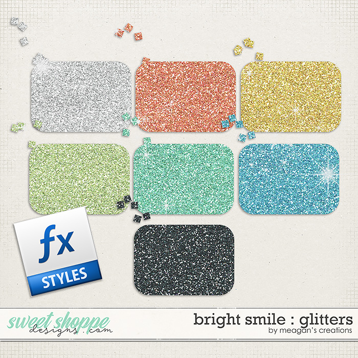 Bright Smile : Glitters by Meagan's Creations