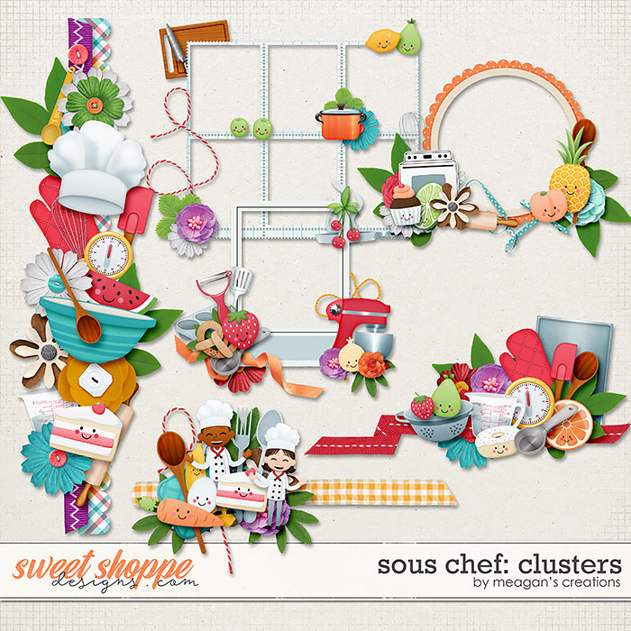 Sous Chef: Clusters by Meagan's Creations