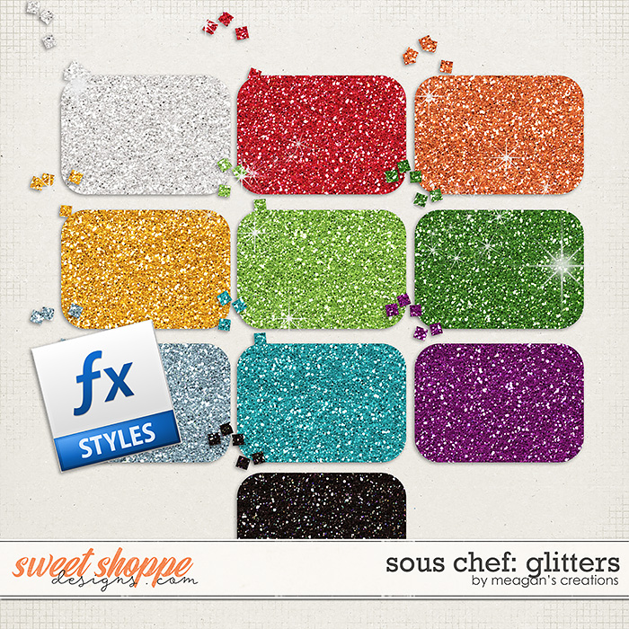 Sous Chef: Glitters by Meagan's Creations