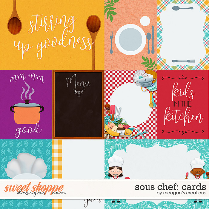 Sous Chef: Cards by Meagan's Creations