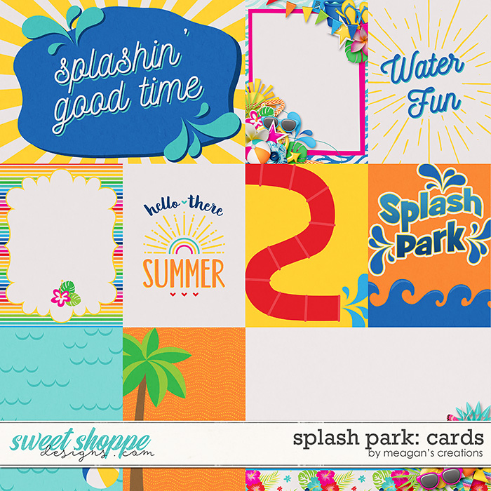 Splash Park: Cards by Meagan's Creations