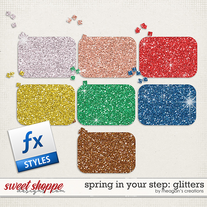 Spring in Your Step: Glitters by Meagan's Creations