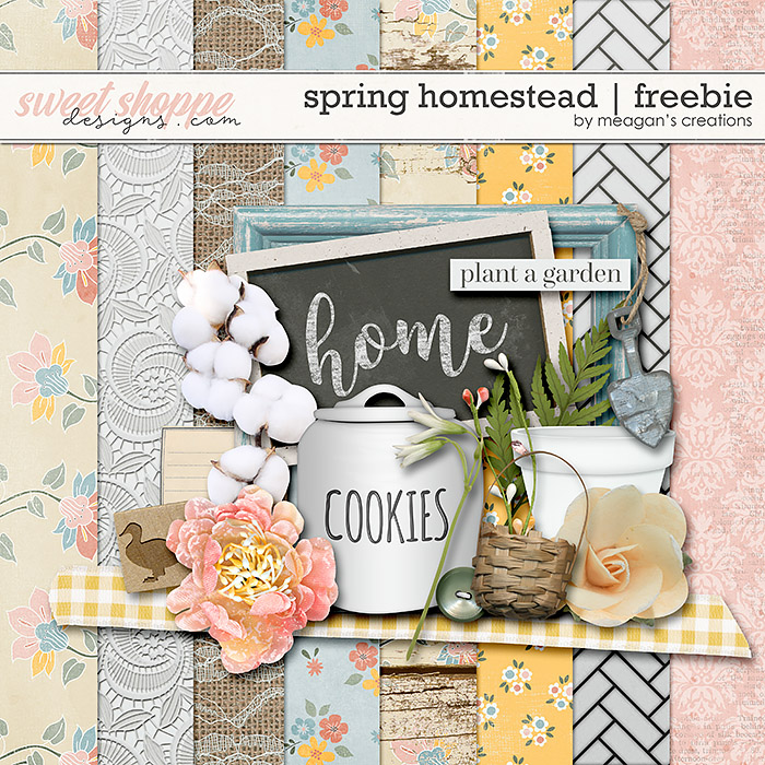 Spring Homestead: Freebie by Meagan's Creations