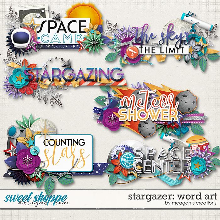 Stargazer: Word Art by Meagan's Creations