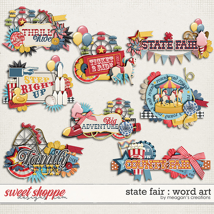 State Fair : Word Art by Meagan's Creations