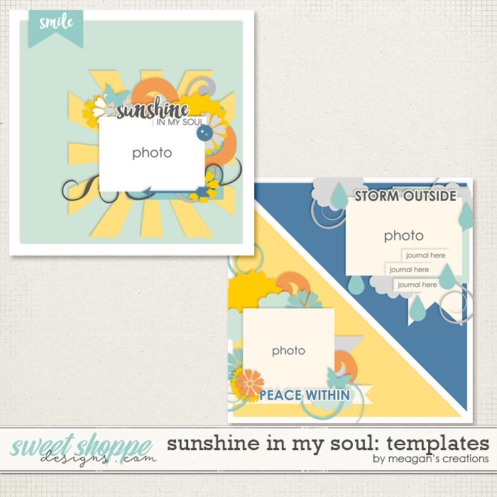 Sunshine in My Soul: Templates by Meagan's Creations