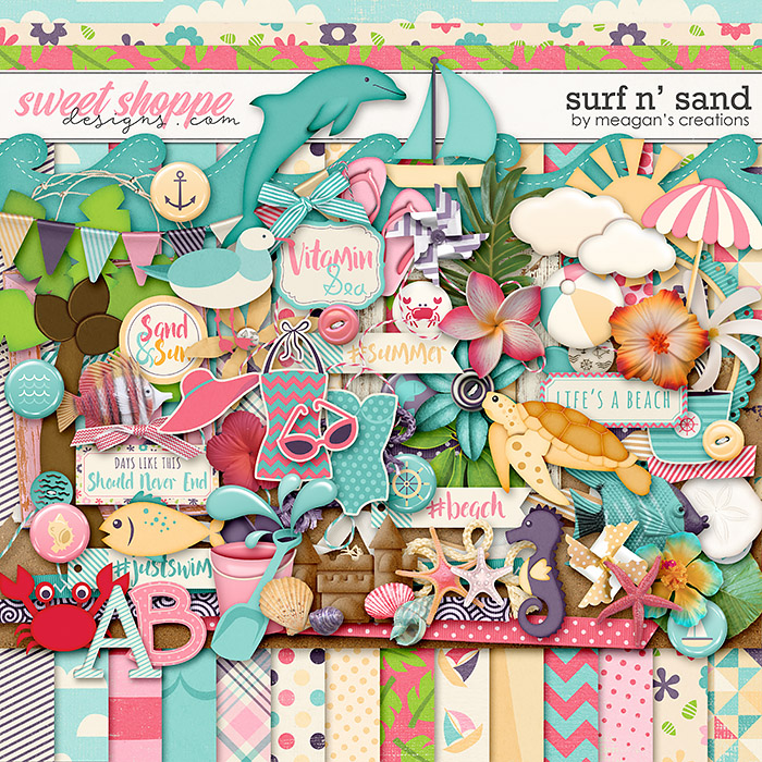 Surf N' Sand by Meagan's Creations