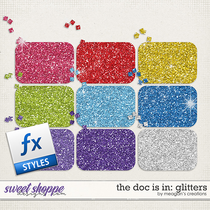 The Doc Is In: Glitters by Meagan's Creations