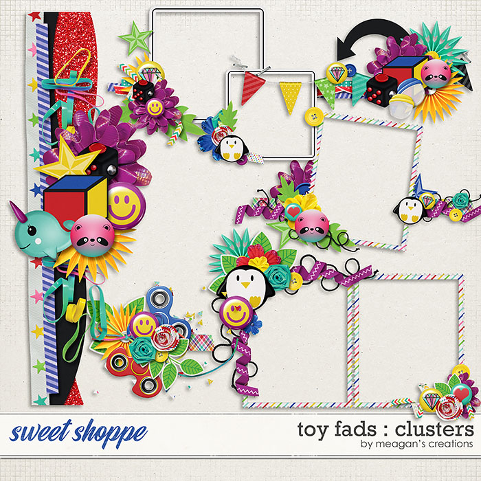 Toy Fads : Clusters by Meagan's Creations