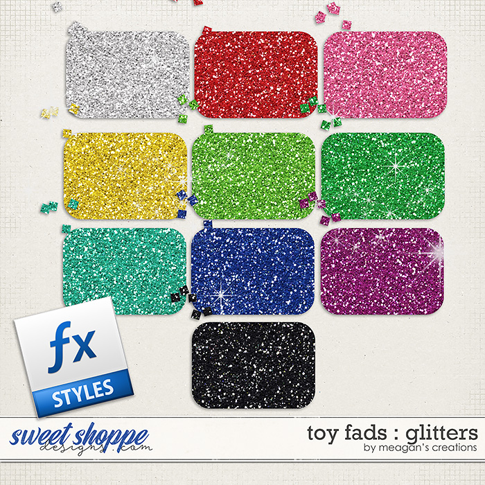 Toy Fads : Glitters by Meagan's Creations