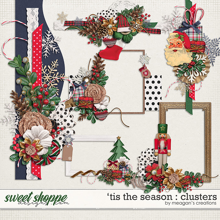 'Tis the Season : Clusters by Meagan's Creations