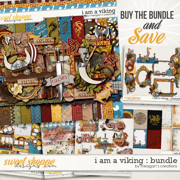 I Am A Viking : Bundle by Meagan's Creations