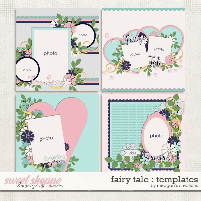Fairy Tale : Templates by Meagan's Creations