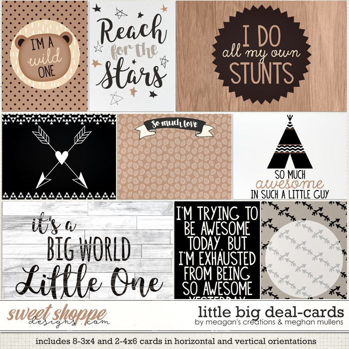 Little Big Deal : Cards by Meagan's Creations & Meghan Mullens