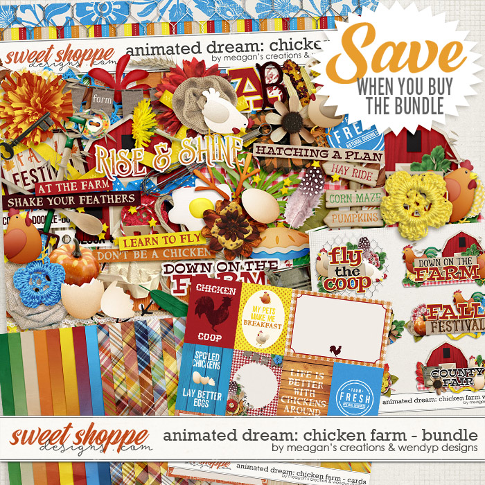 Animated Dream: Chicken Farm Bundle by Meagan's Creations and WendyP Designs