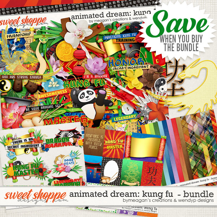 Animated Dream: Kung Fu Bundle by Meagan's Creations & WendyP Designs