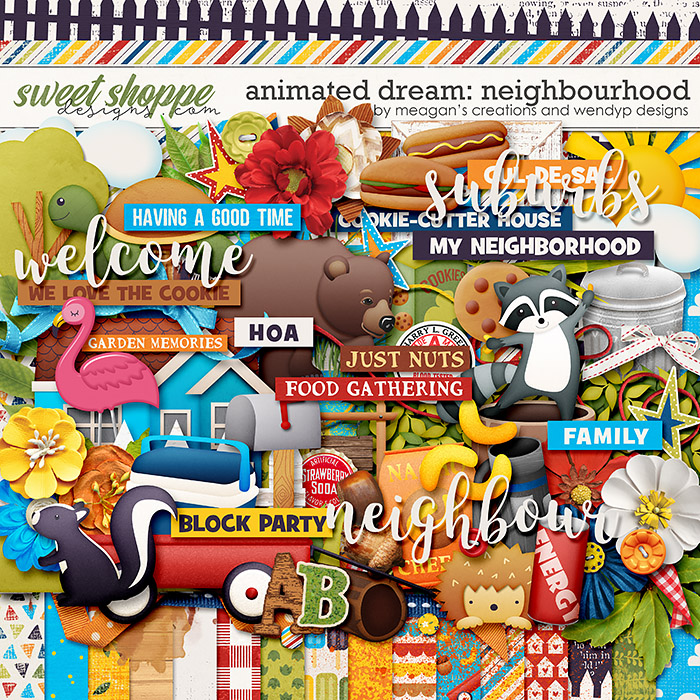 Animated Dream: neighbourhood by Meagan Creations & WendyP Designs