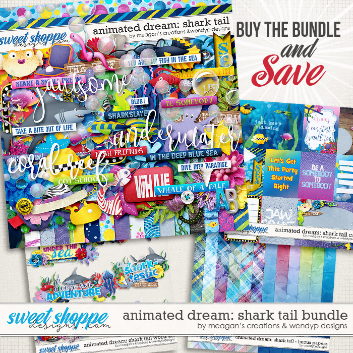 Animated dream: Shark Tail Bundle by Meagan's Creations & WendyP designs