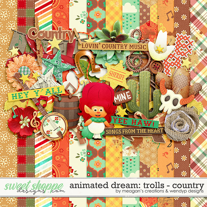 Animated Dream: Trolls- Country by Meagan's Creations and WendyP Designs