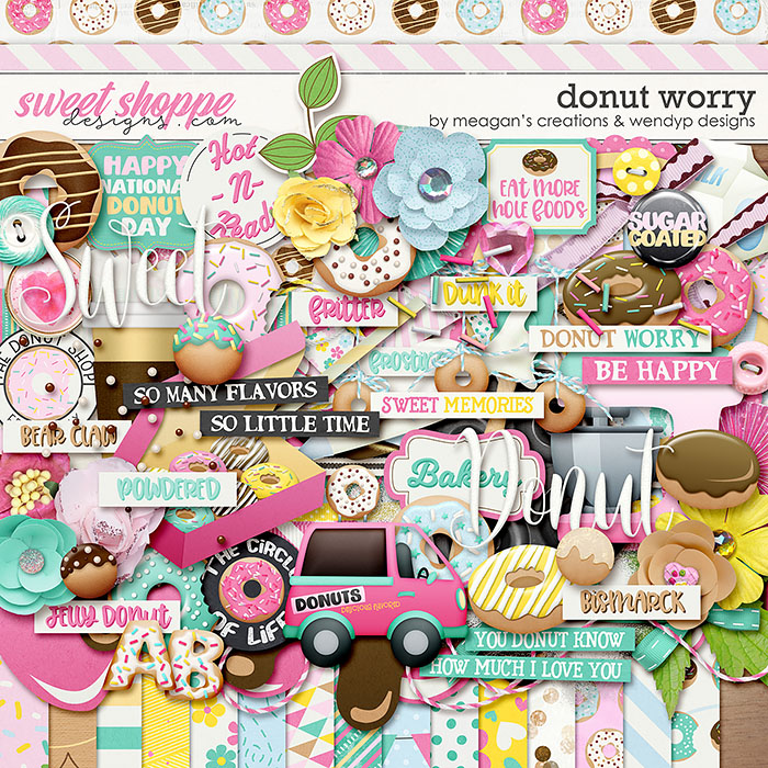 Donut worry by Meagan's Creations & WendyP Designs