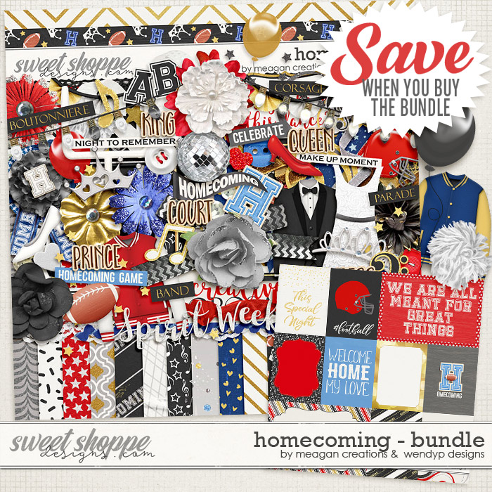 Homecoming : Bundle by Meagan's Creations & WendyP Designs