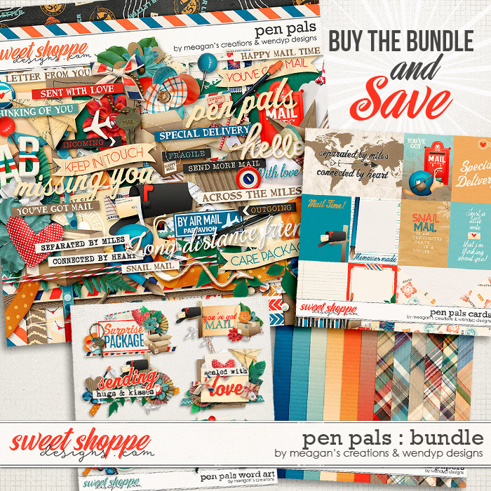 Pen Pals Bundle by Meagan's Creations & WendyP Designs