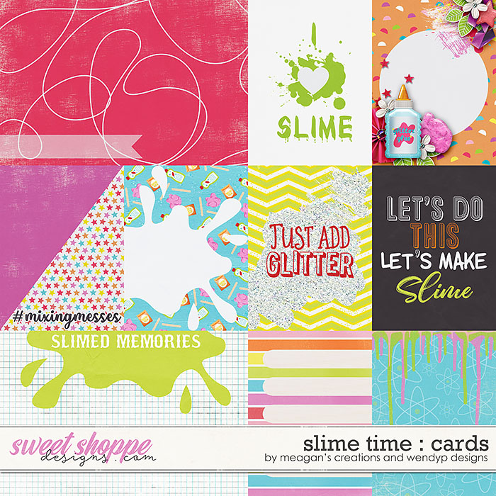 Slime time - Cards by Meagan's Creations & WendyP Designs
