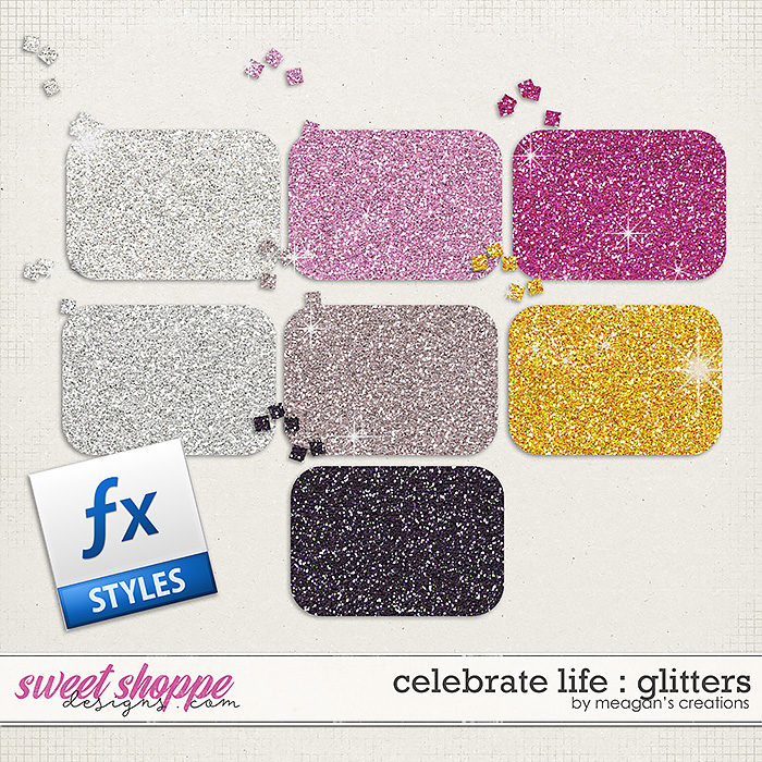 Celebrate Life : Glitters by Meagan's Creations