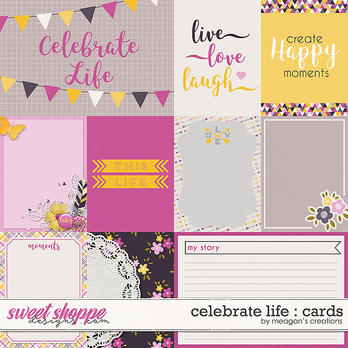 Celebrate Life : Cards by Meagan's Creations