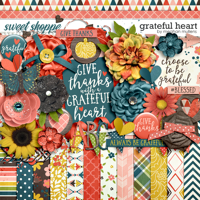 Grateful Heart by Meghan Mullens