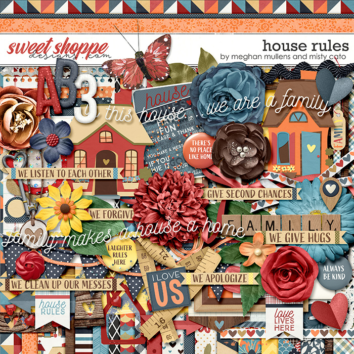 House Rules Kit by Misty Cato & Meghan Mullens