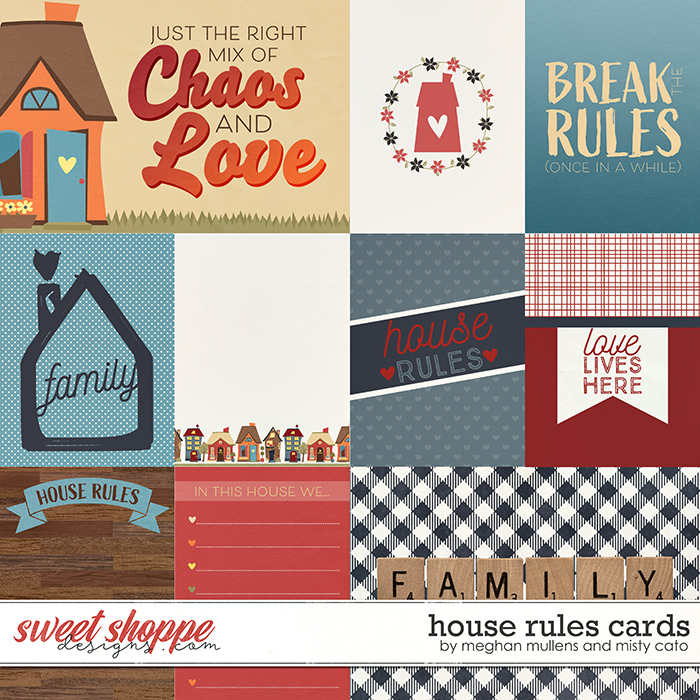 House Rules Project Cards by Misty Cato & Meghan Mullens