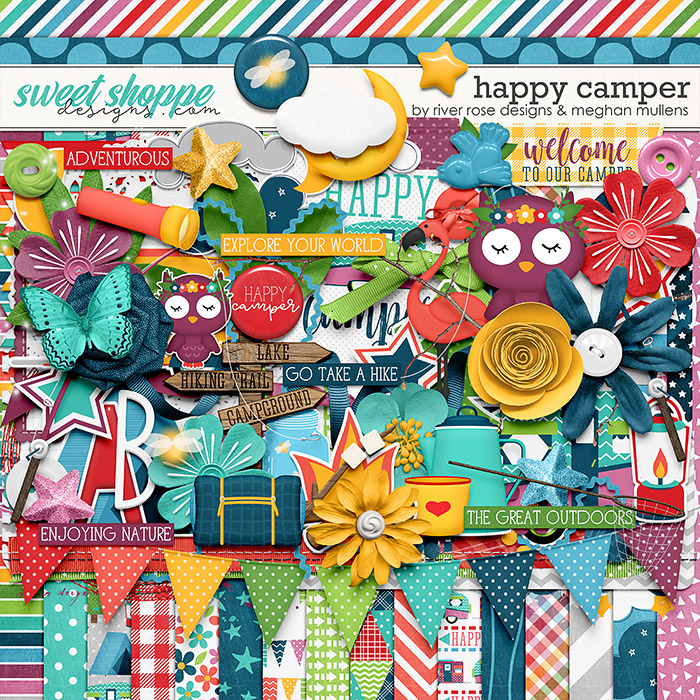 Happy Camper Kit by Meghan Mullens & River Rose Designs