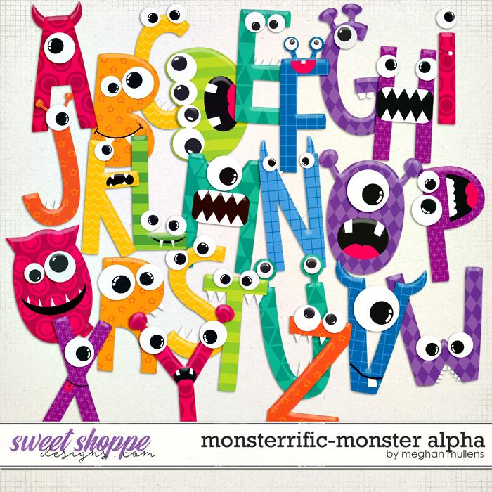 Monsterrific-Alpha Pack by Meghan Mullens