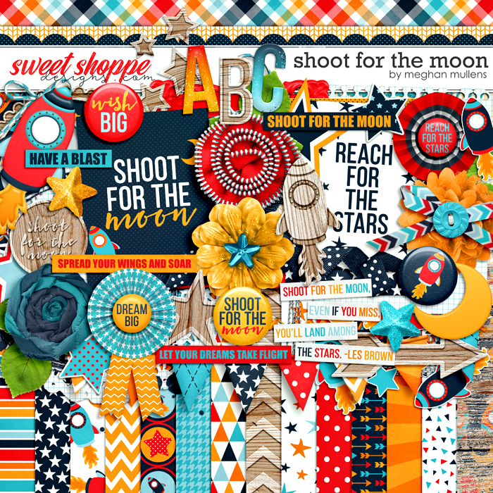 Shoot For The Moon by Meghan Mullens